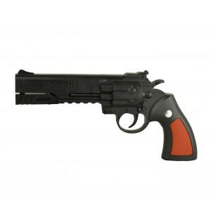 Pistola giocattolo ad aria compressa 285503 a tamburo 6 mm con pallini inclusi