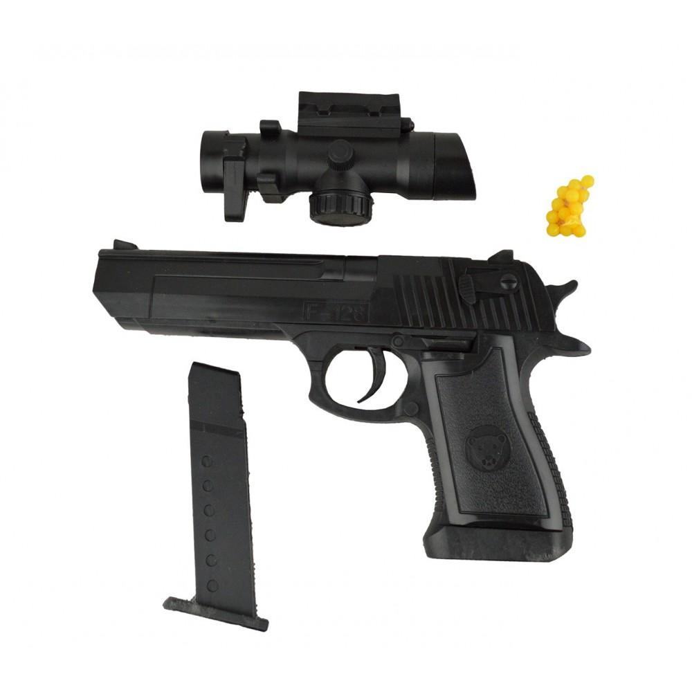 Pistola giocattolo 141458 con puntatore 6 mm con pallini inclusi 1823-87