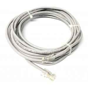 Cavo Ethernet 5.0m LAN CAT6 schermato con contatti placcati in oro 10Gps 045407
