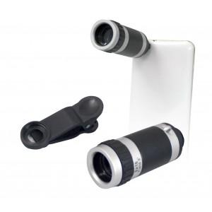 Teleobiettivo universale per smartphone zoom 8x con messa a fuoco manuale 011341