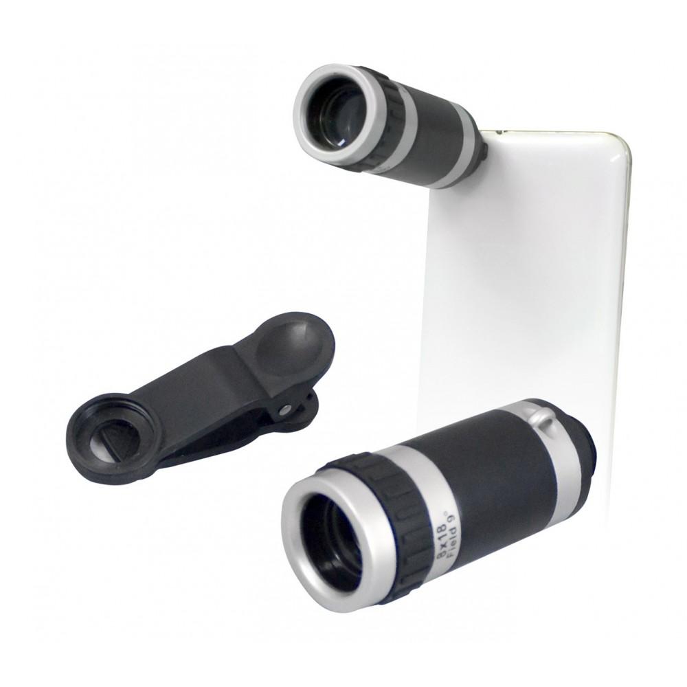 Teleobiettivo TECHMADE per smartphone zoom 8x messa a fuoco manuale 011341