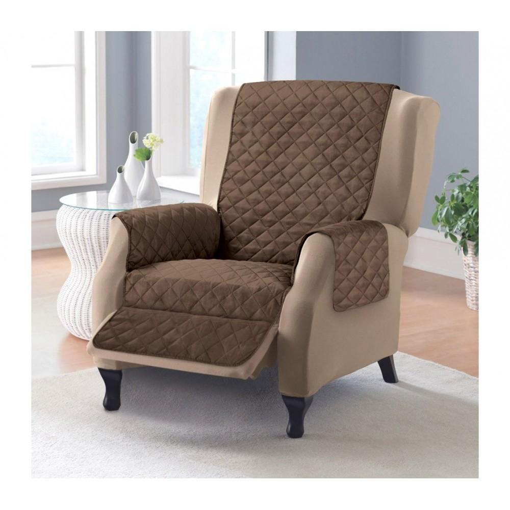 Copridivano Per Divano Con Relax.Copripoltrona Couch Coat Divani Poltrona Double Face Animali Cani