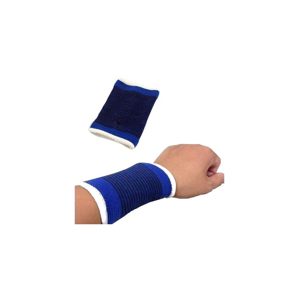 Coppia 2 fasce elastiche polso tutore protezione sport polsiera anti-contusione