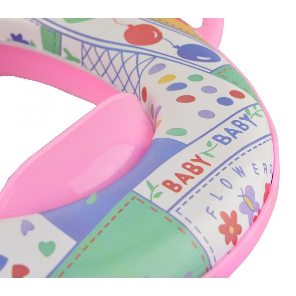 Riduttore wc per bambini potty con maniglie e seduta for Blocca maniglie bambini