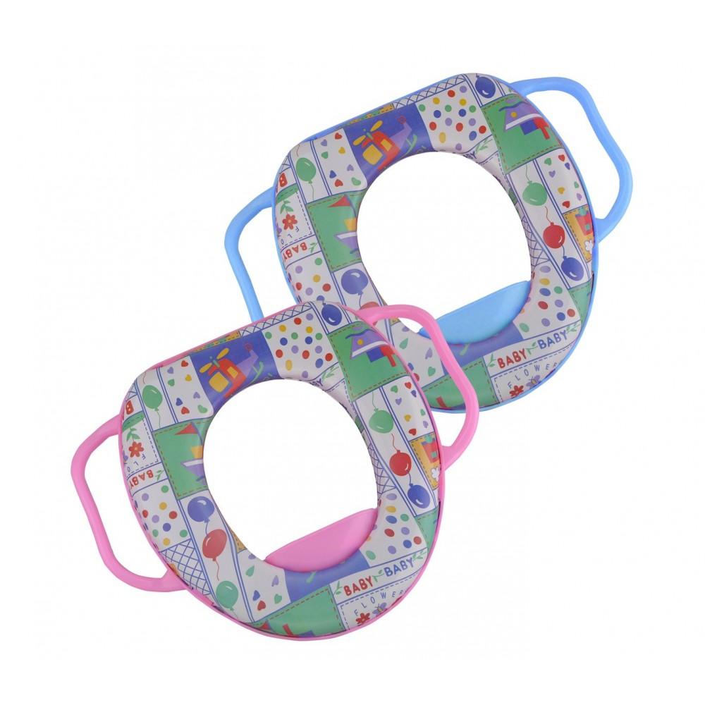Riduttore WC per bambini HIGUA RILUX 394274 con maniglie e seduta imbottita