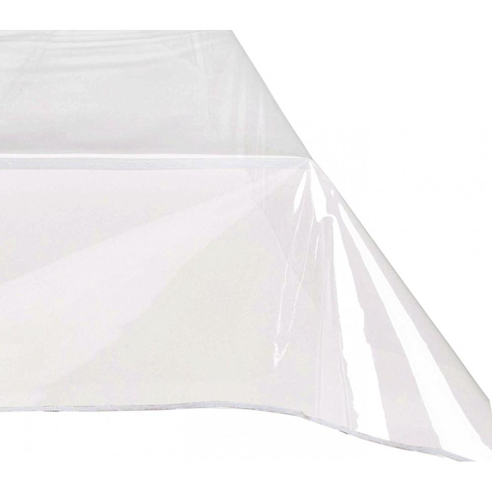 Tovaglia da tavola in cotone 140x225  cm in pvc trasparente 302989