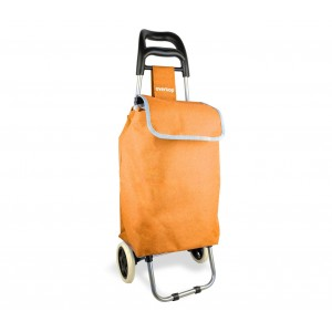 Image of Carrello portaspesa 2 ruote 382103 EVERTOP 25 lt trolley 94 x 25 x 35 cm 8435524515785
