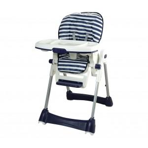 Seggiolone Capri 010104 regolabile in altezza con morbida seduta