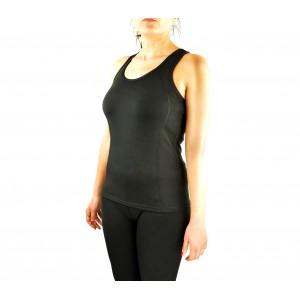 Image of Canotta donna running in tessuto traspirante KZ-356 fitness e sport 8435524509975