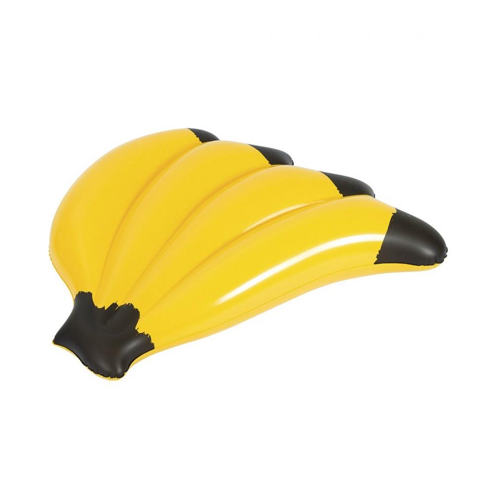 Materassino gonfiabile a forma di Banana BESTWAY 139 x 129 cm 43160 in vinile