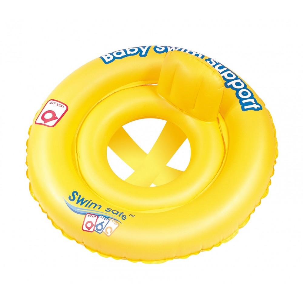 Salvagente rotondo BESTWAY a mutandina 32096 Swim ABC diametro 69 cm per neonati