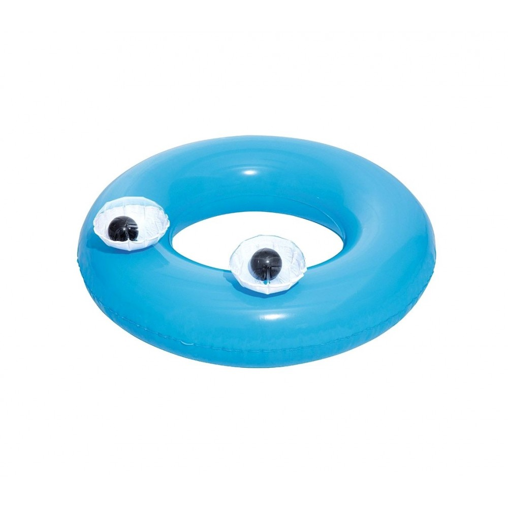 36119 Salvagente occhi mobili tondo diametro 91cm 3 colori Bestway