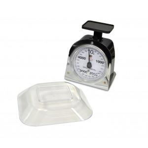 PWC1021 Bilancia da cucina analogica DCG fino a 5 kg vassoio in plastica