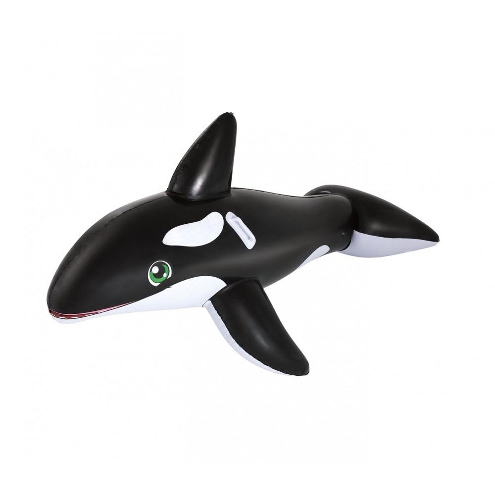 Cavalcabile BESTWAY a forma di Orca gigante 41009 gonfiabile 203 x 102 cm