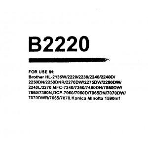 Toner compatibile B2220 Brother HL 2240, 2270DW, 2250,7360,7460,7860