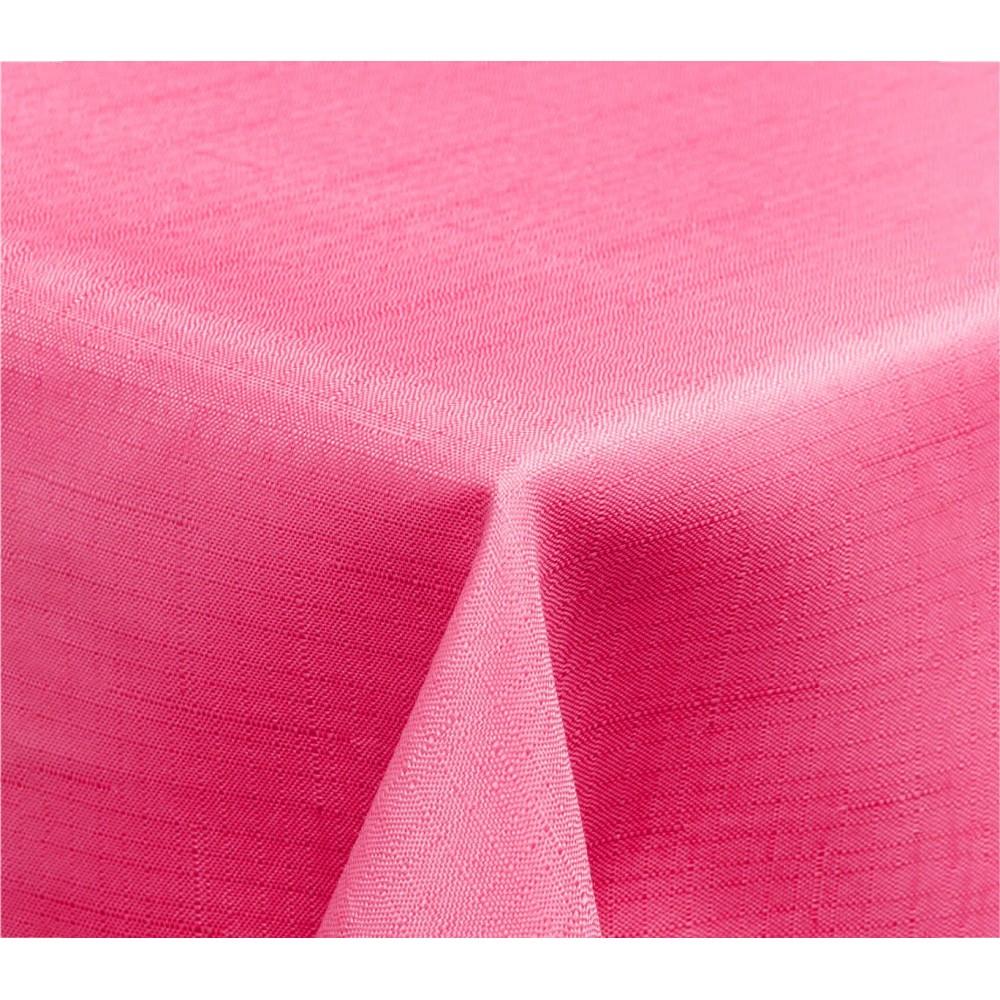 344903 Tovaglia da tavola effetto lino 150 x 150 cm con orlo vari colori