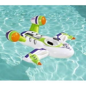41094 Cavalcabile Wet Jet con oblò e pistola ad acqua 150 x 140 cm Bestway