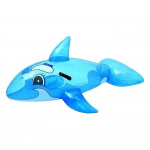 Cavalcabile BESTAWAY a forma di Balena 41037 trasparente gonfiabile 157 x 94 cm