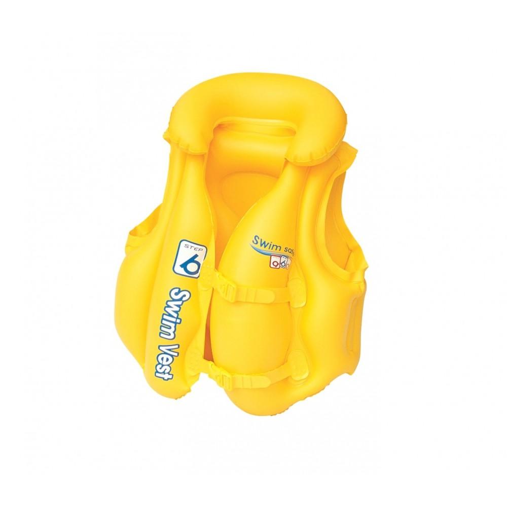 Giubbotto salvagente gonfiabile BESTWAY 51x46 cm 32034 Swim Safe ABC per neonati