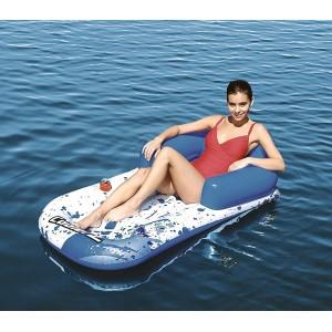 43130 Poltrona Materassino Coolerz 231 x 107cm con borsa frigo e portabicchieri