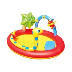 Image of Piscina Play Center BESTWAY 53026 con serpente e giochi a spruzzo 193x150x89 cm 6942138900705