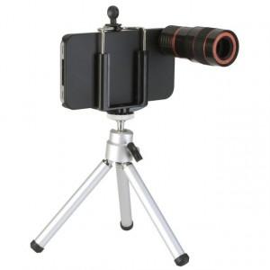 Image of Obiettivo 8x + mini-trepiede per iPhone 3g 3GS +case di protezione 7106896497573