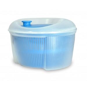 Image of Centrifuga per insalata a rotazione 621500 in plastica atossica diametro 23 cm 8435524512289