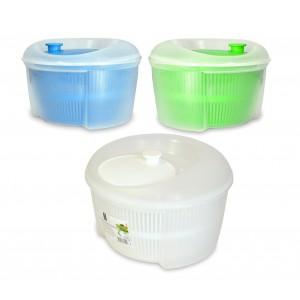 Centrifuga per insalata a rotazione 621500 in plastica atossica diametro 23 cm