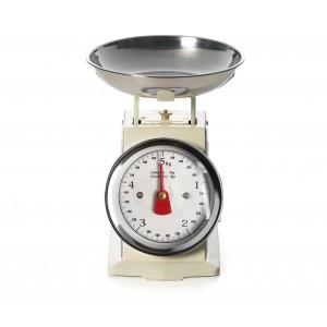 Bilancia da cucina EN-81356 analogica fino a 5 kg vassoio in metallo