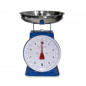 Bilancia da cucina EN-80946 analogica fino a 10 kg vassoio e corpo in metallo