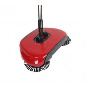 Scopa a 3 spazzole rotanti EN-221862 manuali senza elettricità e senza fili