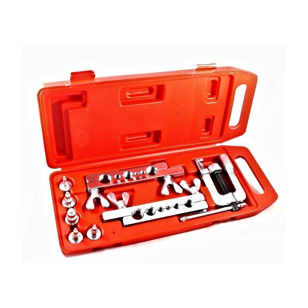 Pagliettatrice con 10 accessori in pratica valigetta svasatrice per tubi in rame ed ottone  20040005