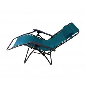 Image of Sedia sdraio pieghevole EVERTOP 281222 totalmente reclinabile relax 8435524513064