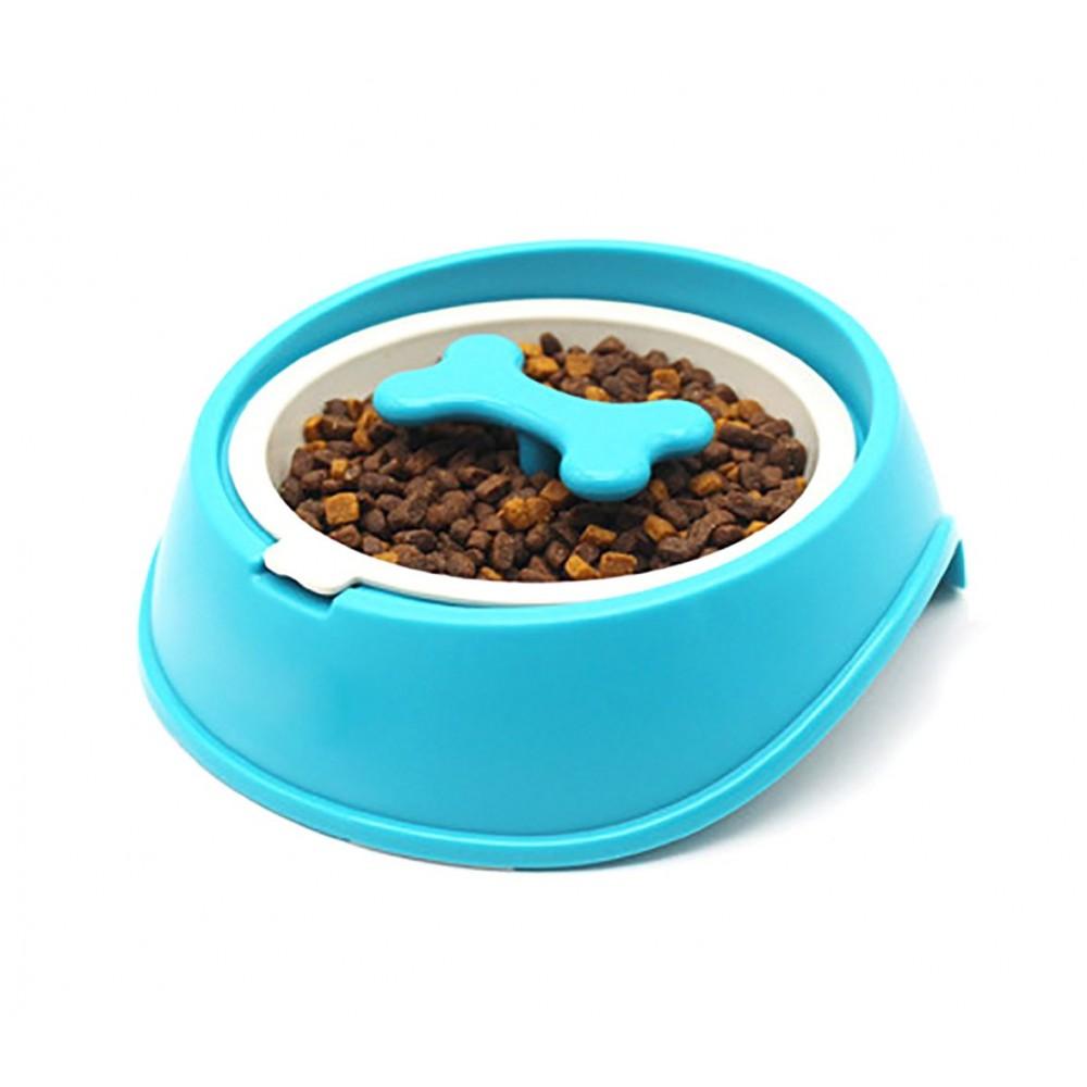 060377 Ciotola per cani gatti anti-soffocamento e migliore digestione Grande