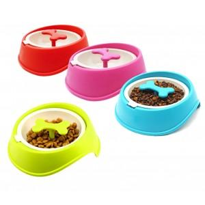 Ciotola sport per cani gatti 060377 anti-soffocamento e migliore digestione 15cm