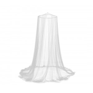 Image of Zanzariera a tenda da letto 60 X 250 X 1200 cm 176740 EVERTOP a baldacchino 8435524516171