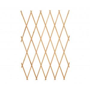 Barriera in legno grigliato estensibile medio 434020 da 180x60 cm Welkhome