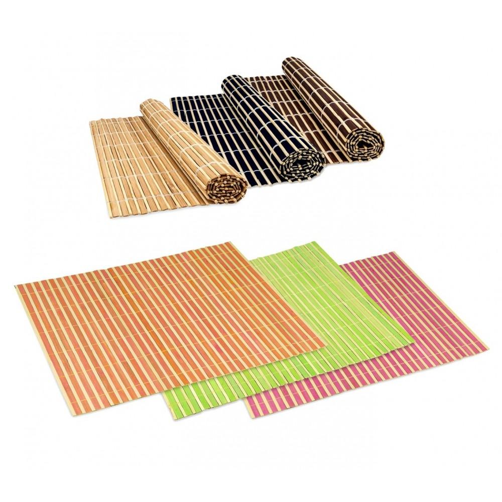 Tovaglietta di bamboo colorata 137697 da tavola decorativa sottopiatto 30x40 cm