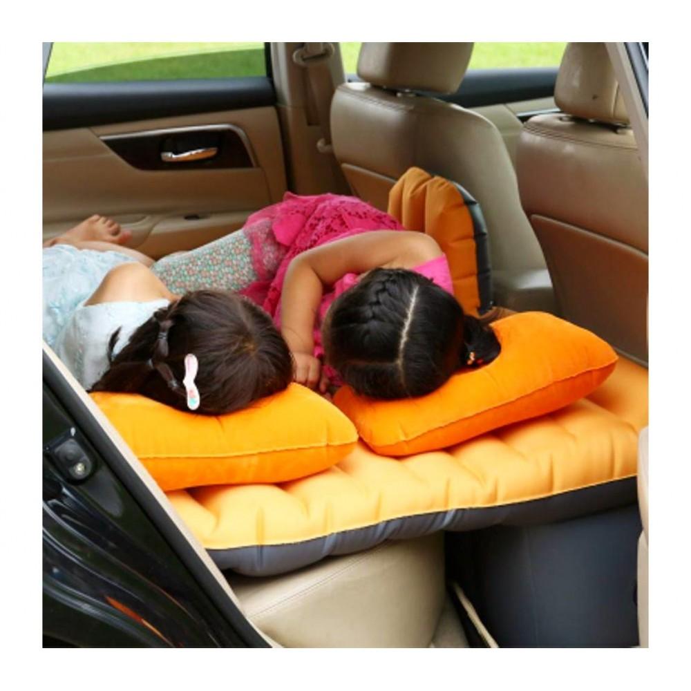 Cuscini Gonfiabili Per Auto.Materassino Gonfiabile Auto 775310 Con Pompa Integrata E Due Cuscini