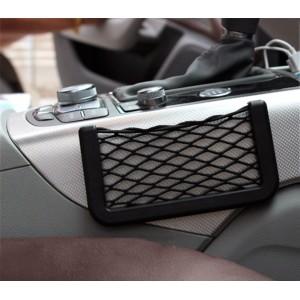 Tasca porta cellulare da auto con retina