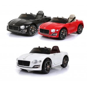 Auto bambini elettrica BENTLEY LT882 con Parental Control 6V MP3 luci led