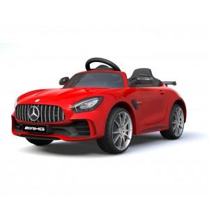Image of Auto bambini elettrica MERCEDES AMG GTR LT888 con Telecomando 12V MP3 luci led 8435524514009