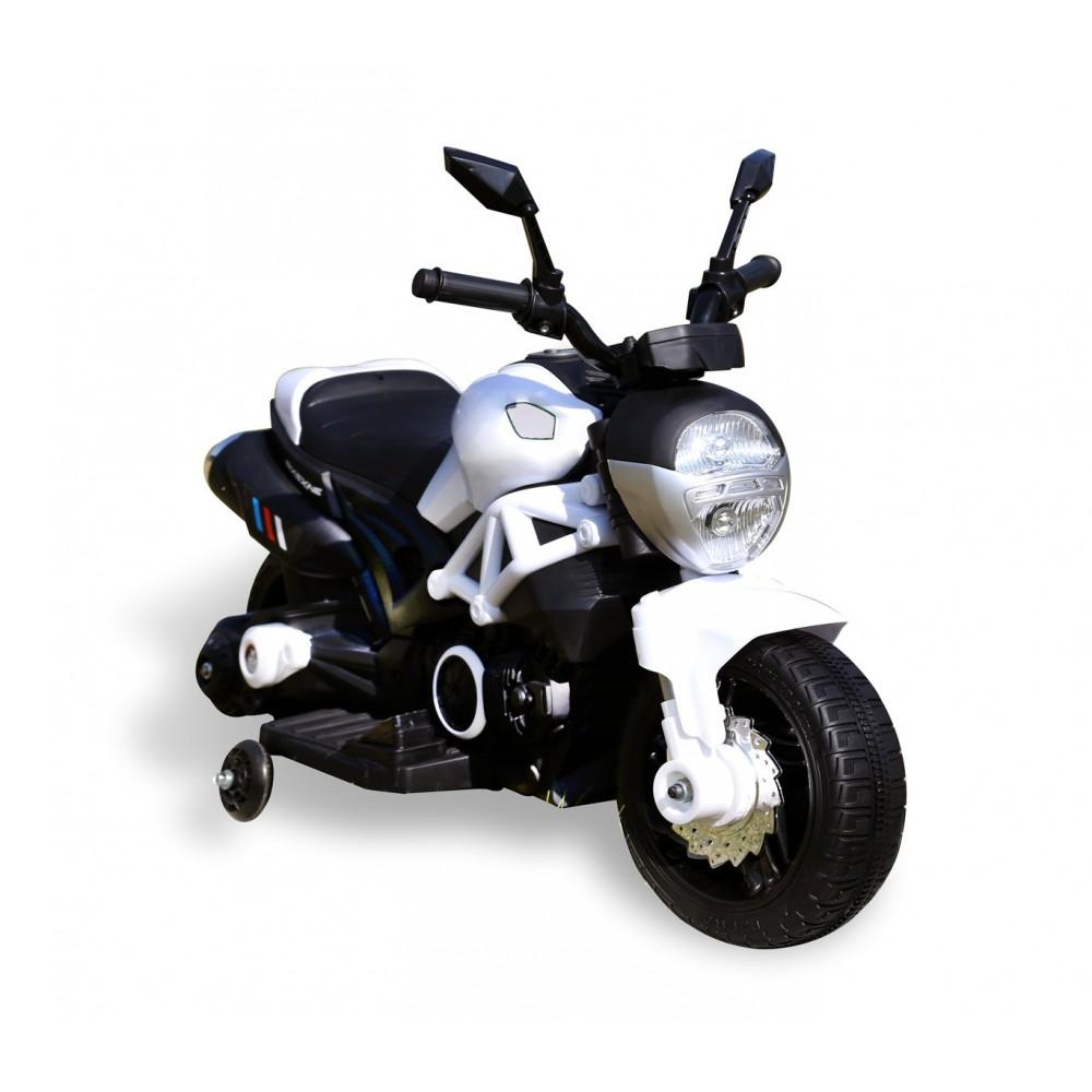 Moto HUNTER LT885 elettrica per bambini con rotelle
