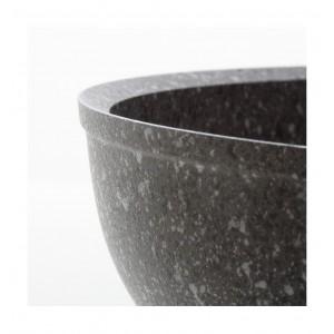 Padella antiaderente in pietra cm.22 Accademia Mugnano Linea Cuore di pietra