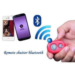 Telecomando a portachiavi per autoscatto bluetooth pulsante per selfie tascabile e semplice da usare
