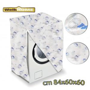 Coprilavatrice in plastica WELKHOME universale 80 x 60 x 60 cm telo proteggi lavatrice