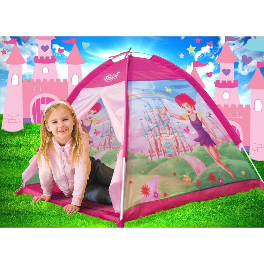 Tenda da gioco principessa fatata 112x112x79 cm castello per bambine Linea Cigioki