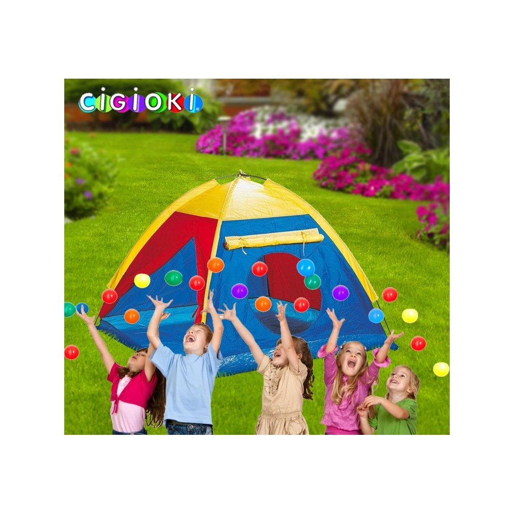 Tenda da gioco per bimbi e bimbe 112x112x94 cm con simpatica finestra a rullo
