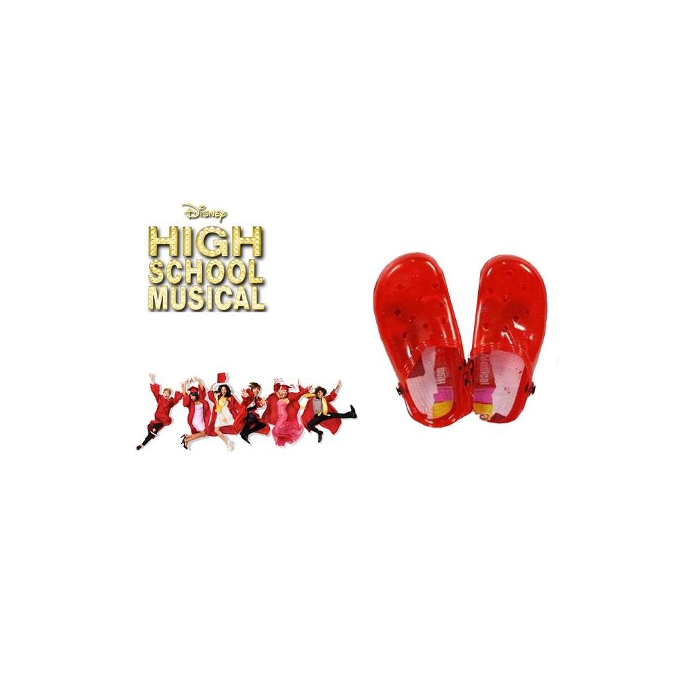 Scarpe bambini sabot colorati DISNEY personaggio HIGH SCHOOL MUSIC sandali con luci mare da passeggio