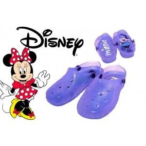 Scarpe bambini sabot colorati DISNEY personaggio MINNIE sandali con luci mare da passeggio